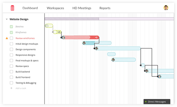 Online gantt chart software easy to use creator gantt charts make reporting easy ccuart Images