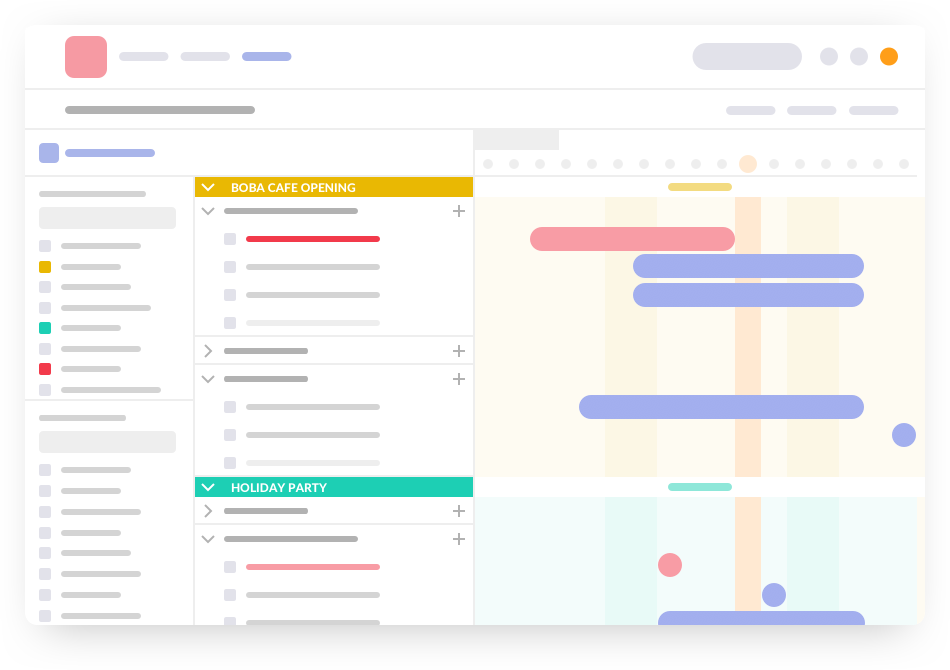 Timeline Overview Report - Online Gantt Chart Software - Easy-to-Use Creator
