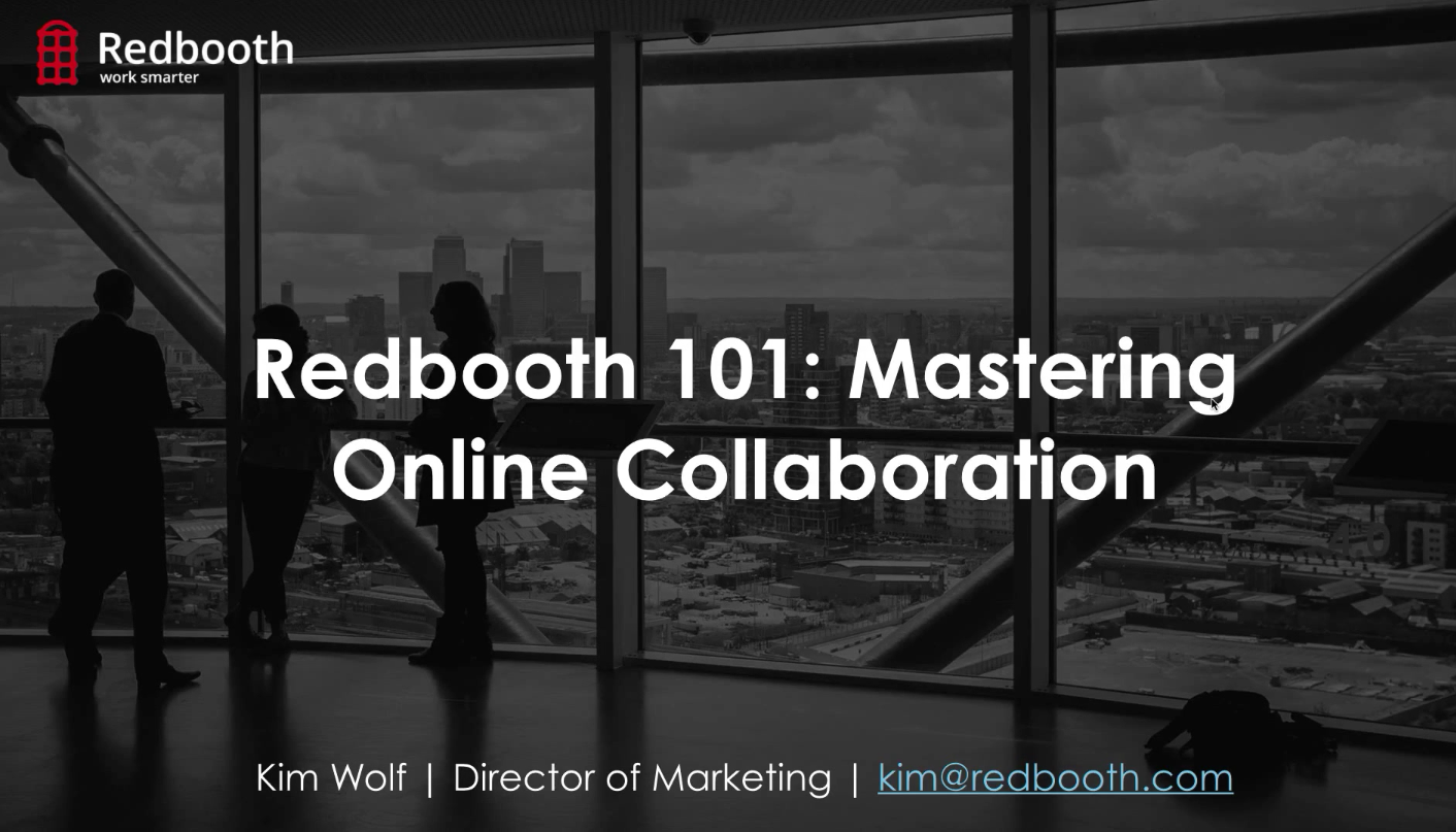 Mastering Online Collaboration