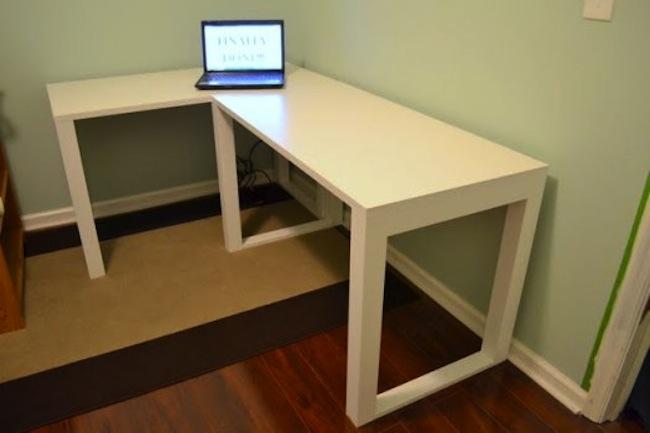 Corner Desk Diy The Photos Gallery Of Home Interior