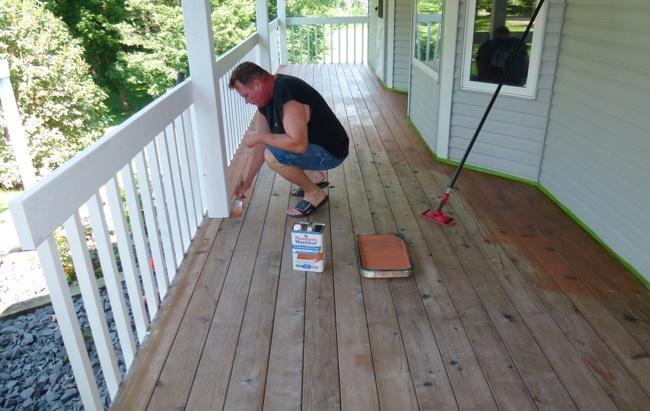 How To Refinish A Deck Bob Vila