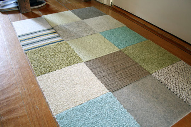 Recycle carpet samples | curbly.