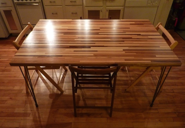 Buy Butcher Block Table Top: DIY Dining Table