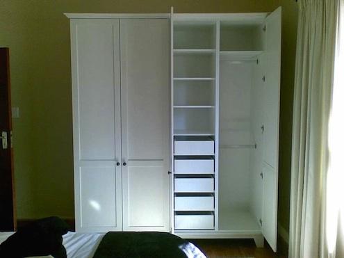 Wardrobe Closet Free Standing Wardrobe Closet Plans