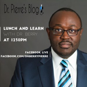 Lunch and Learn, Dr. berry, DrpierresBlog.com,sleep disorders