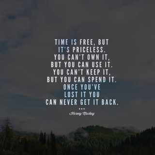 Reclaiming my lost time is more important than money