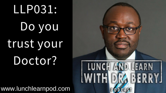 LLP031: Do you trust your doctor?
