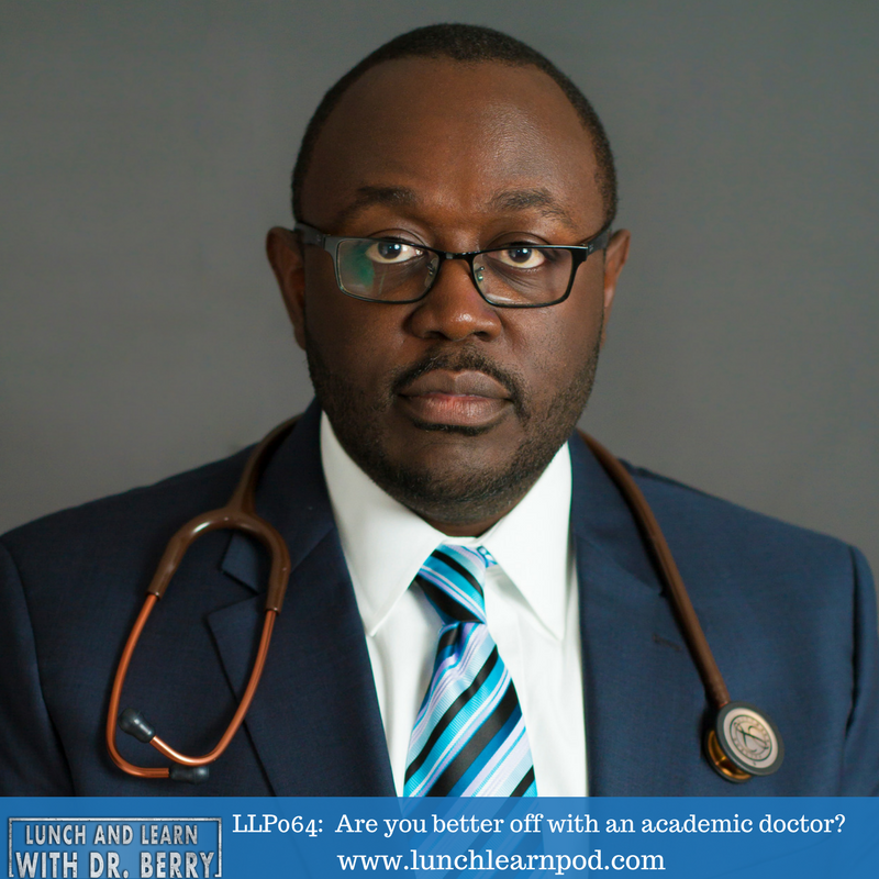 LLP064: Are you better off with an academic doctor?
