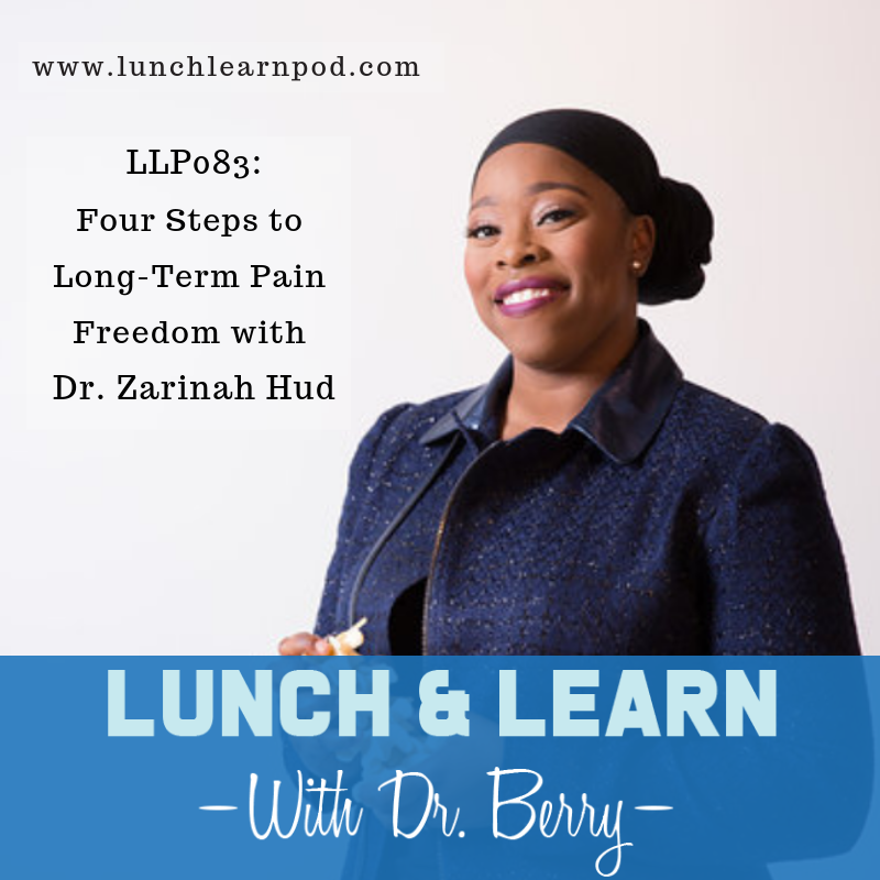 LLP083: Four Steps to Long-Term Pain Freedom with Dr. Zarinah Hud