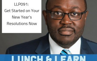 new years resolution, dr berry pierre, lunchlearnpod