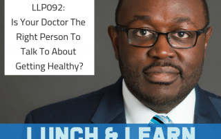 getting healthy, lunch and learn with dr berry pierre, dr berry pierre