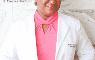 Yes, brown people can get skin cancer too with Dr. Candrice Heath, Dr. Candrice Heath, dr berry pierre, lunch and learn