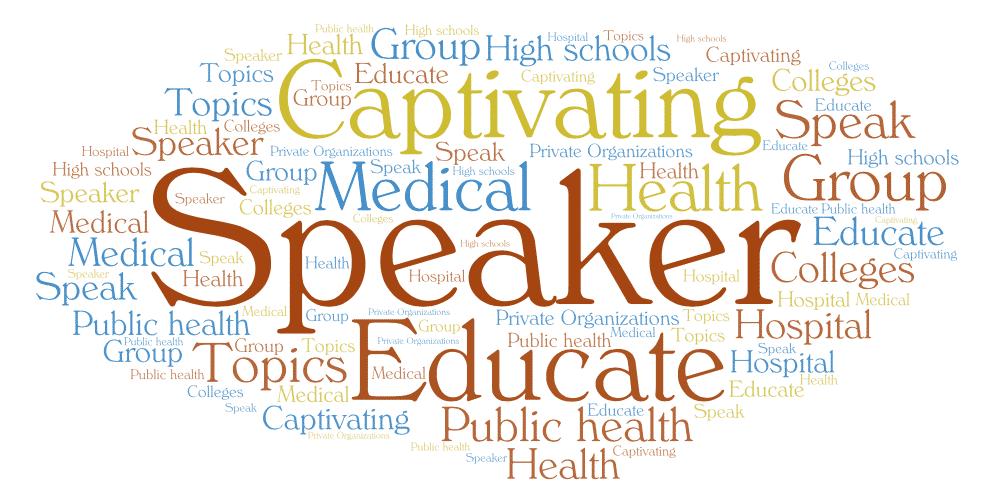 speaker, captivating, educator