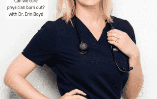 emergency medicine, physician burnout,Dr. Erin Boyd, Lunch and Learn