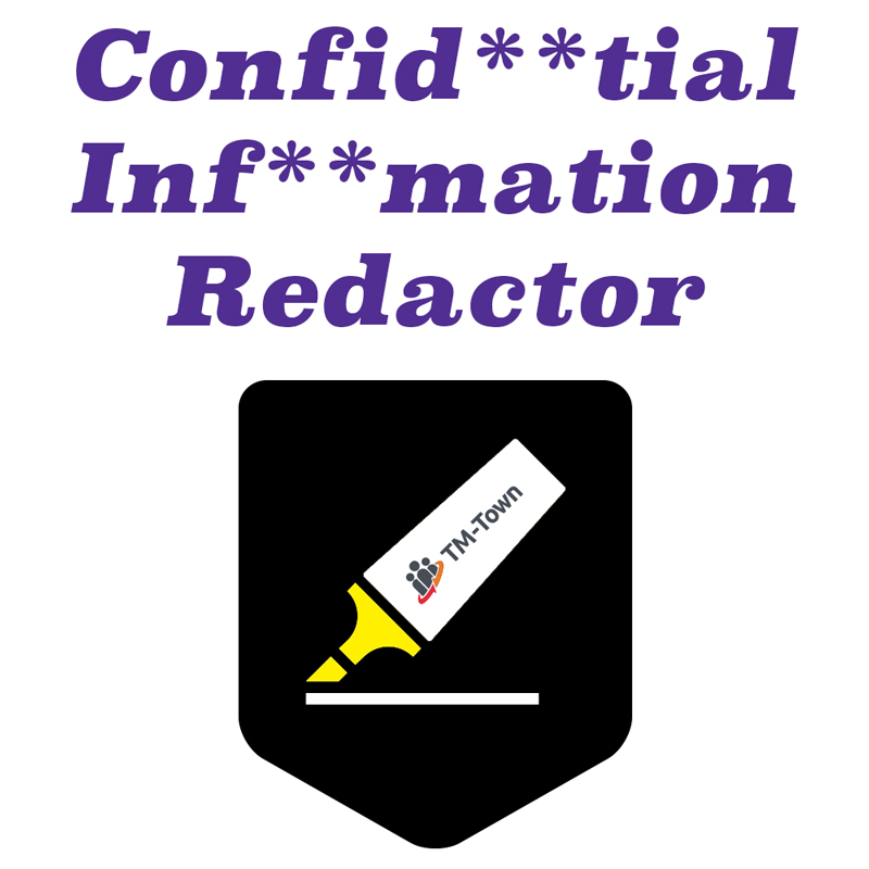 Confidential Information Redactor