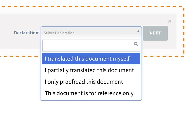 Document Declaration
