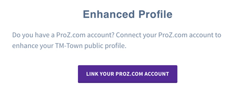 TM-Town Link To Your ProZ.com profile