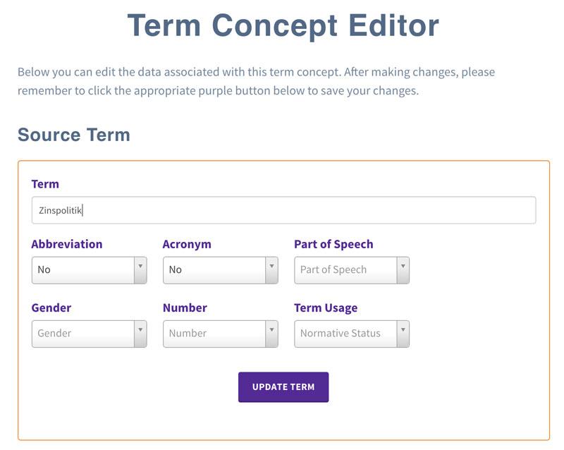 TM-Town Term Concept Editor
