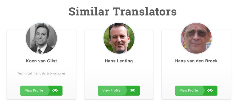 Similar Translators