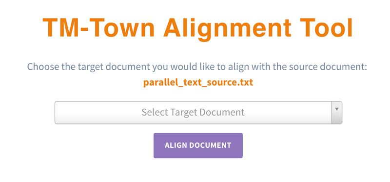 TM-Town New Alignment Tool I