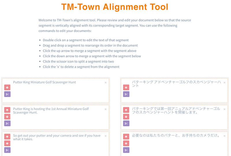 TM-Town New Alignment Tool II