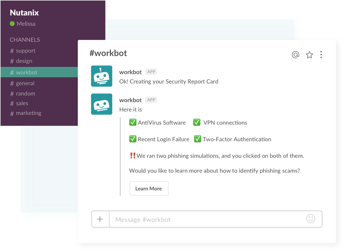 Slack workflows security check up