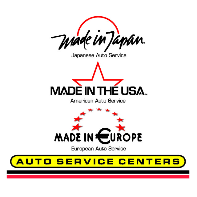 Made in Japan / USA/ Europe Auto Repair Centers