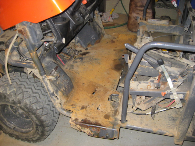 Kubota Rtv900 Floor Replacement By Tom Lyons Workhands