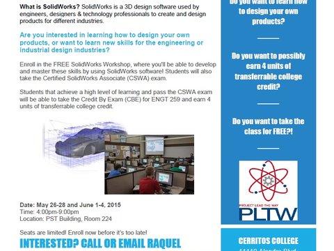 Free Solidworks Summer Workshop A8018107a7c12446610b6b54b8285bd5 Jpg Workhands