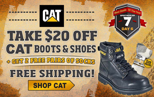 Cat Boots Black Friday Sale 2015