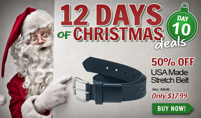 Take 50% Off This Working Person's Store Leather Belt!