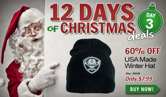 Take 60% Off This Working Person's Store Winter Hat!