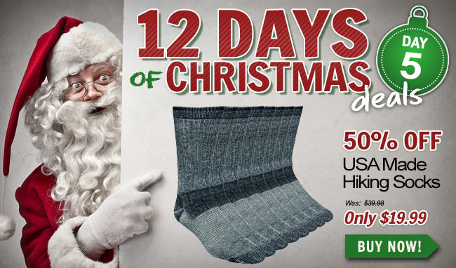 Take 50% Off These Working Person's Store Socks!