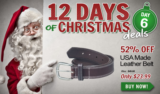 Take 52% Off This Premium Leather Belt!