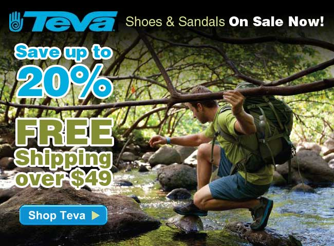 Teva Shoes & Sandals On Sale Now - Save Up to 20% and Get FREE Shipping on Orders Over $49 - Limited Time Offer - Order Yours Today!