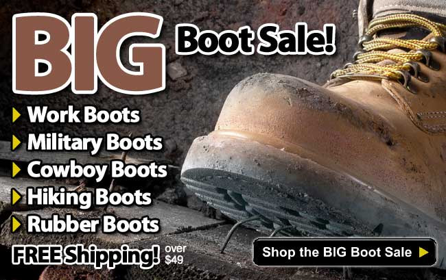 15% Off All Work Boots & Workwear Made in the USA!
