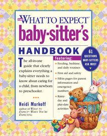 What to Expect Baby-Sitter's Handbook - cover