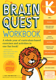 Brain Quest Kindergarten - Revised 4th Edition Brand New G116