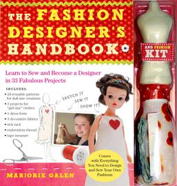The Fashion Designer's Handbook & Fashion Kit - cover