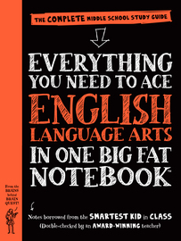 Everything You Need to Ace English Language Arts in One Big Fat Notebook - cover