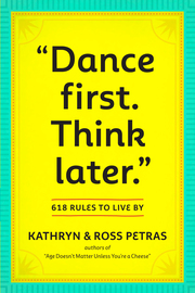 """""""Dance First. Think Later"""" - cover"""