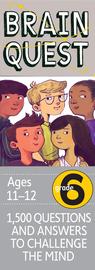 Brain Quest Grade 6, revised 4th edition - cover