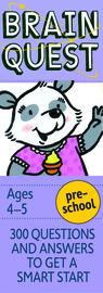 Brain Quest Preschool, revised 4th edition - cover