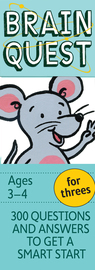 Brain Quest for Threes, revised 4th edition - cover