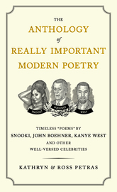 The Anthology of Really Important Modern Poetry  - cover