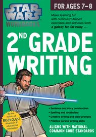 Star Wars Workbook: 2nd Grade Writing - cover