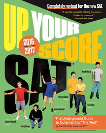 Up Your Score: SAT - cover