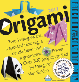 Origami Page-A-Day Calendar 2017 - cover