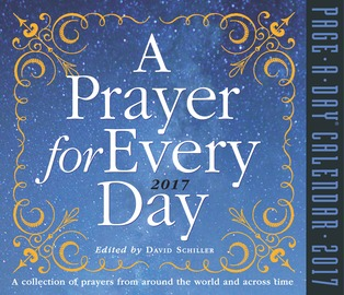 A Prayer for Every Day Page-A-Day Calendar 2017 - cover