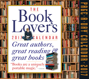 The Book Lover's Page-A-Day Calendar 2017 - cover
